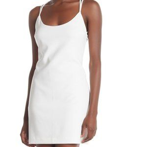 French Connection Scoop Back Slip Dress